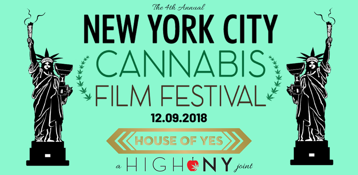 2018 New York City Cannabis Film Festival High NY Event Michael Zaytsev Best Cannabis Events Community Marijuana Legalization NYC Weed events NY weed 420 event Tickets